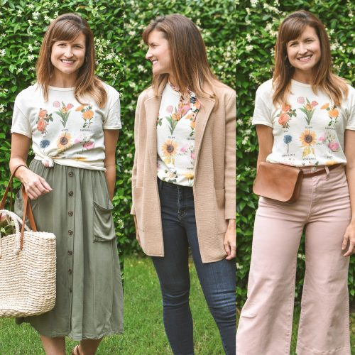 How to Style a Graphic Tee 3 Ways